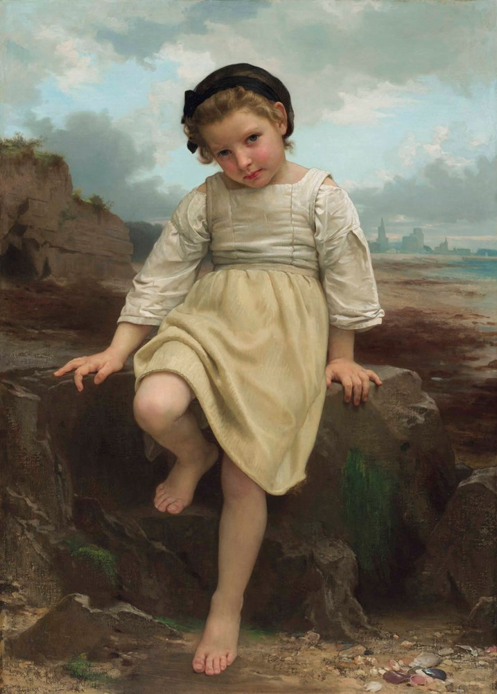William-Adolphe Bouguereau - Sur le rocher