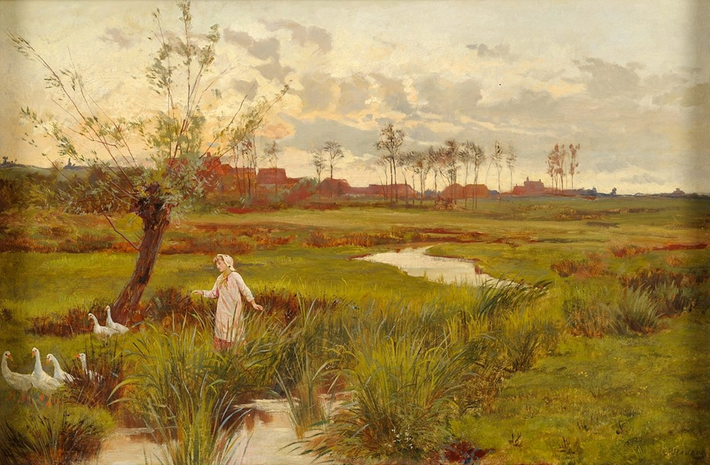 Alice Mary Havers - The goose girl
