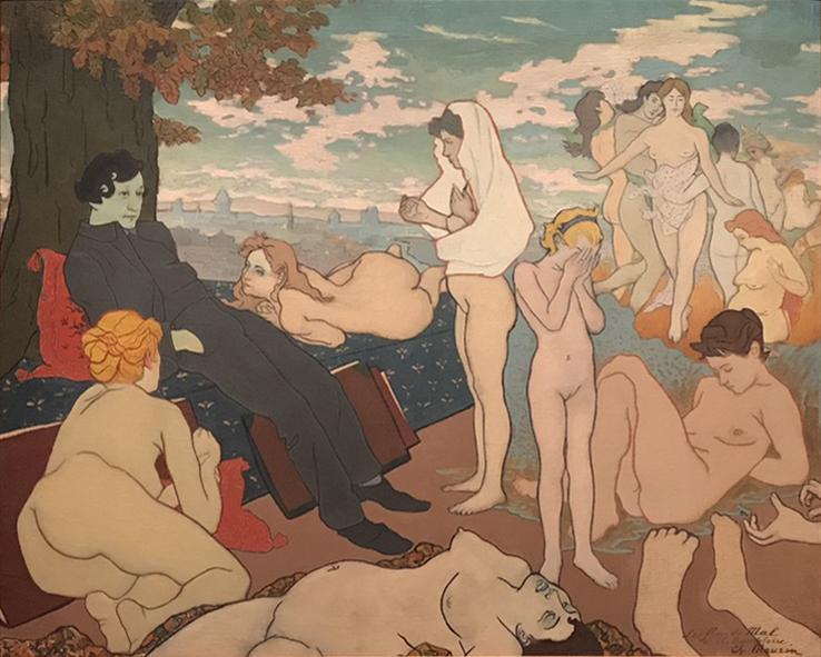 Charles Maurin - L'Aurore du Rêve (The Dawn of the Dream)