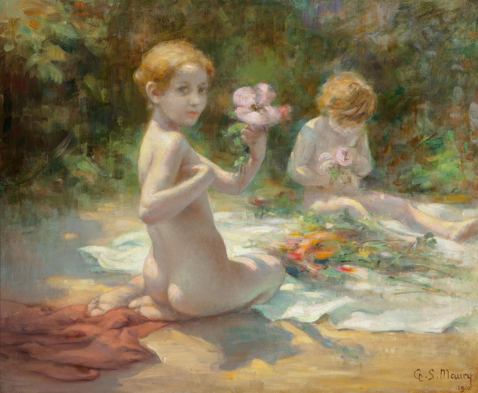 Georges Sauveur Maury - Les Bouquets